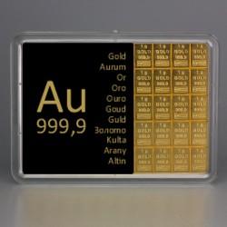 20 x 1g Gold Combibar