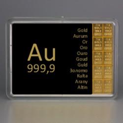 10 x 1g Gold Combibar