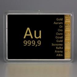 5 x 1g Gold Combibar