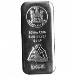 1 Kg Silber Münzbarren Fiji (diff.best.)