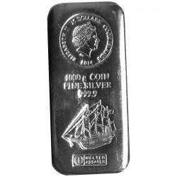 1 Kg Silber Münzbarren Cook-Islands (diff.best.)