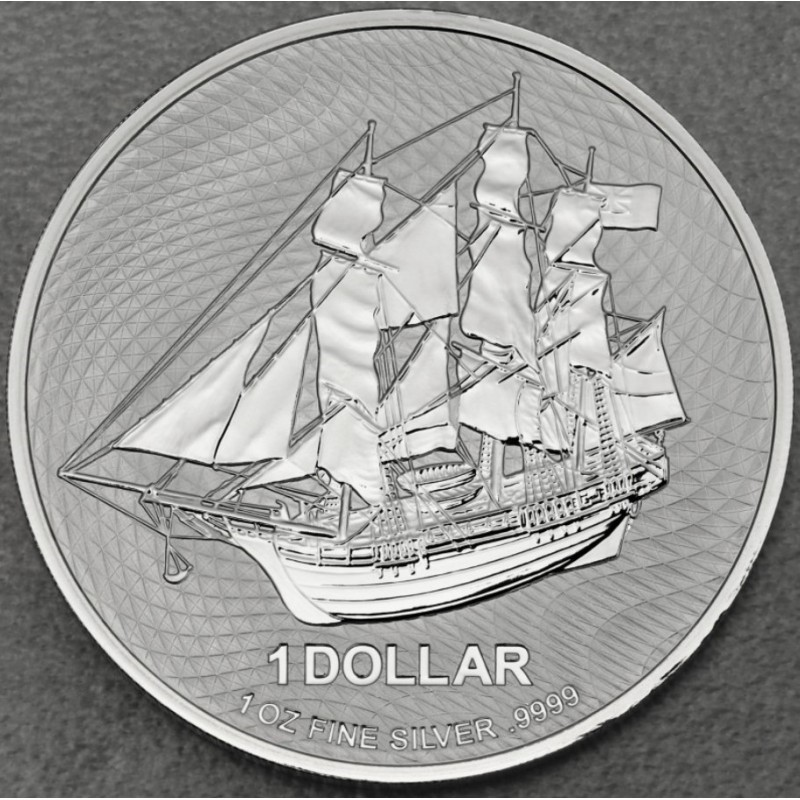 1 Oz Silber Cook Islands 2020 New Generation
