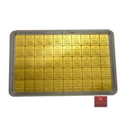 50 g Gold Tafelbarren