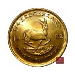 1/4 Oz Gold Kruegerrand
