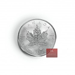 1 x  1 Oz Silber Maple Leaf 2014