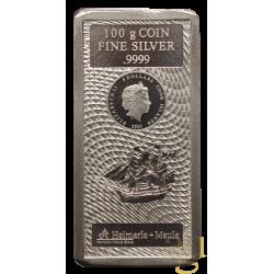 100 Gramm Silberbarren 2020...