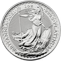 1 Oz Platin Britannia 2021