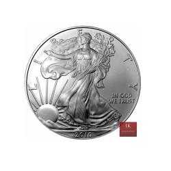 1 x 1 Oz Silber American Eagle 2013