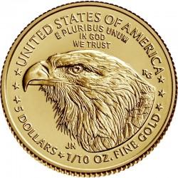 1/10 Oz Gold American Eagle...