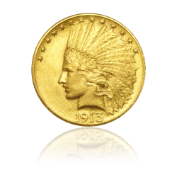 Goldmünze Indian Head 10...