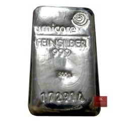 500 g Silber Gussbarren